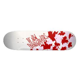 Les nouveaux pornographes oh Canada ! Mini Skateboard 18,4 Cm