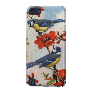 Les oiseaux bleus sont perché sur la caisse d'iPod Coque iPod Touch 5G