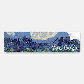 Les oliviers par Vincent van Gogh Autocollants Pour Voiture