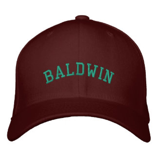 Les ours de Baldwin ont adapté le casquette Casquette Brodée