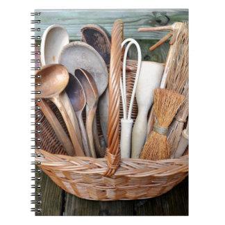 Les outils de la grand-maman carnets à spirale