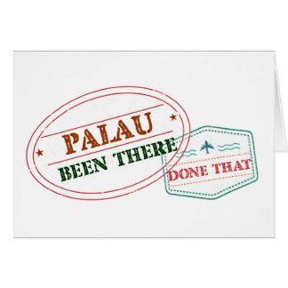 Les Palaos là fait cela Carte De Vœux