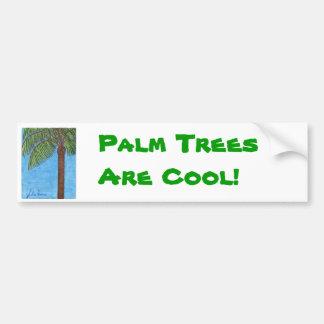 Les palmiers sont adhésif pour pare-chocs frais autocollant pour voiture
