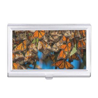 Les papillons de monarque de migration boîtiers pour cartes de visite