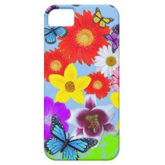 Les papillons et les fleurs refroidissent l'iPhone iPhone 5 Case