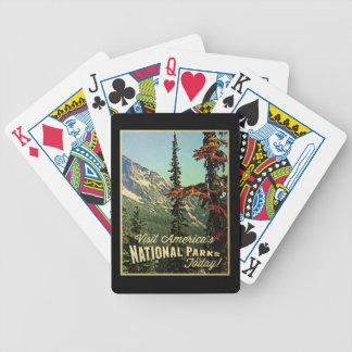Les parcs nationaux de l'Amérique Jeu De Poker