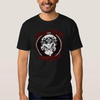 les pauvres badinent le classique 101 de t-shirts