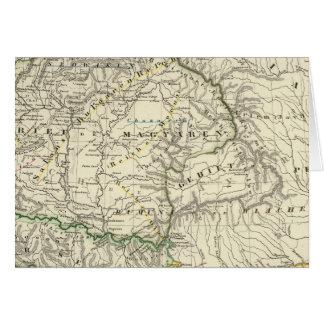Les pays sur le Danube inférieur VtenXte Carte De Vœux