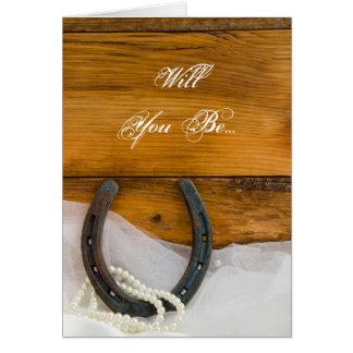 Les perles en fer à cheval vous veulent soient ma cartes