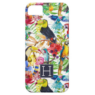 Les perroquets colorés d'aquarelle | ajoutent iPhone 5 case
