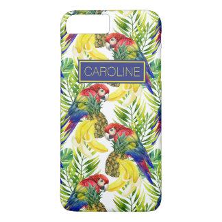Les perroquets et le fruit tropical | ajoutent coque iPhone 7 plus