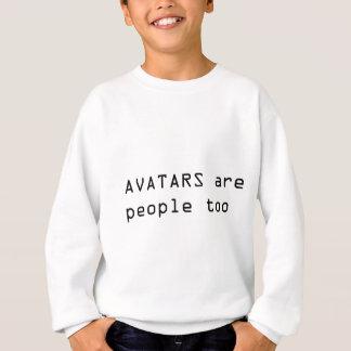 Les personnes d'avatars badinent le sweatshirt