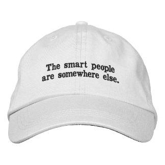 Les personnes futées sont ailleurs chapeau casquette brodée
