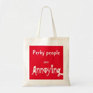 Les personnes gaies ennuient le sac fourre-tout la