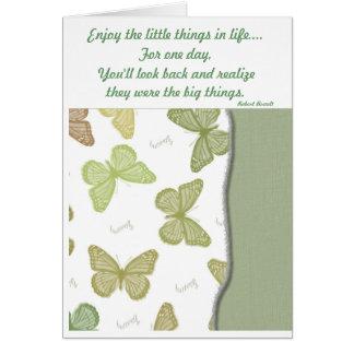 Les petites choses cartes de vœux