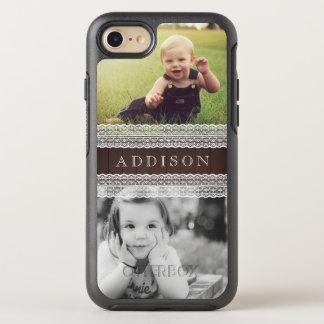 Les photos faites sur commande et appellent | bois coque otterbox symmetry pour iPhone 7