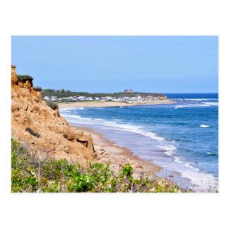 Les plages rocheuses de Montauk, Long Island, NY Carte Postale