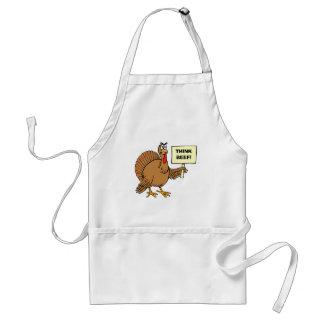 Les plaisanteries drôles de thanksgiving pour des tablier