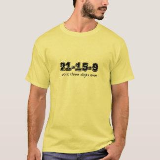 Les plus mauvais 3 chiffres t-shirt
