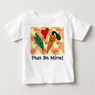 Les pois soient mon bébé de Valentine T-shirt Pour Bébé