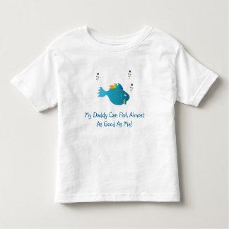 les poissons d'arc-en-ciel bleus, mon papa peuvent t-shirt pour les tous petits