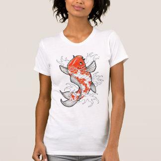 Les poissons effarouchés tatouent le T-shirt