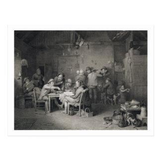 Les politiciens de village, gravés par Abraham Carte Postale