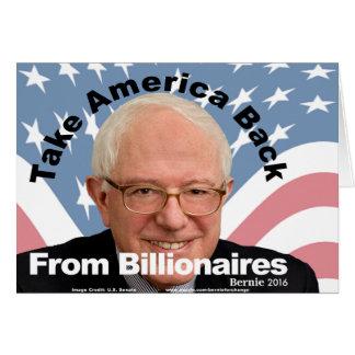 Les ponceuses de Bernie rapportent le carte pour