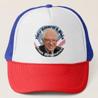 Les ponceuses de Bernie rapportent le chapeau de Casquette