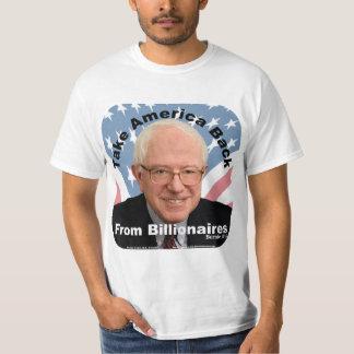 Les ponceuses de Bernie rapportent le T-shirt des