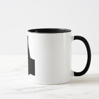 Les pouces lèvent le geste, blanc de retour mugs