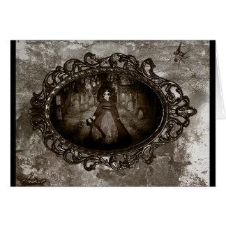 Les poupées mortes ne parlent pas carte de vœux