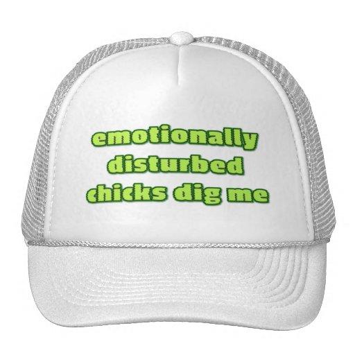 Les poussins avec émotion perturbés me creusent casquette de camionneur