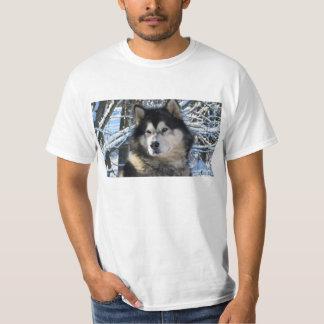 Les premières chutes de neige 2012 de Loup T-shirt
