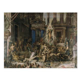 Les Pretendants, 1862-98 Carte Postale
