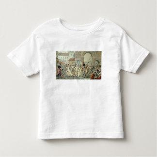 Les prisonniers russes ont défilé sur le boulevard t-shirts