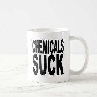 Les produits chimiques sucent tasse