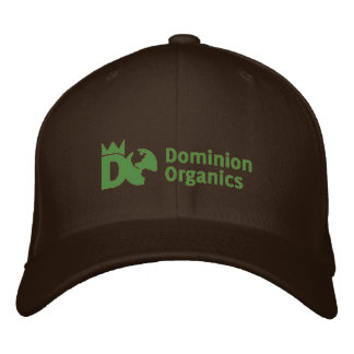 Les produits organiques de dominion ont adapté le  casquette brodée