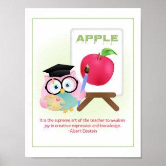 Les professeurs réveillent la joie dans le HIBOU Poster
