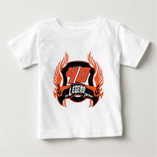 Les quarantième cadeaux d'anniversaire de légende t-shirt pour bébé
