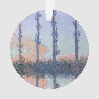 Les quatre arbres par Claude Monet