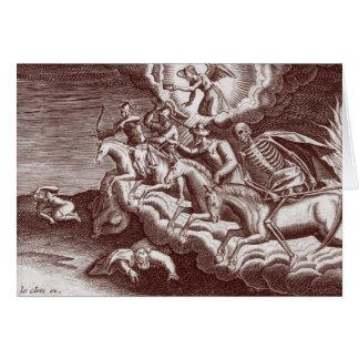 Les quatre cavaliers de l'apocalypse - carte