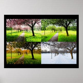 Les quatre saisons poster