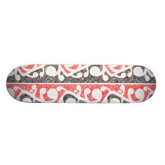 les rangées de kowhaiwhai ont marbré s6 pillow.png plateau de planche à roulettes