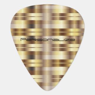Les rayures métalliques d'or | personnalisent onglet de guitare