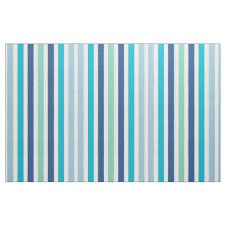 les rayures refroidissent des couleurs bleues tissu
