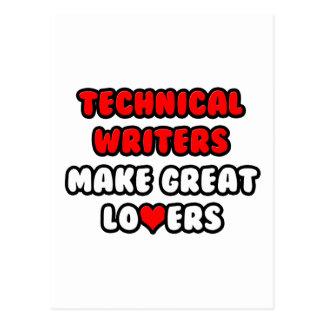 Les rédacteurs techniques font de grands amants cartes postales