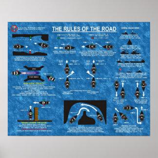 Les règles de la route posters
