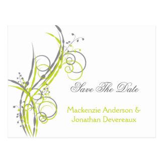 Les remous floraux gris Chartreuse font gagner la Carte Postale
