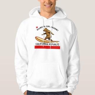 Les ressacs lèvent des sweat - shirts à capuche de sweats à capuche